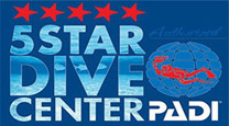 Logo - Padi Five Star Diving Center